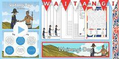 Waitangi Day Resource Pack - nz, new zealand, waitangi day, waitangi, treaty…