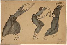 Amadeo de Souza-Cardoso, S/Tit., 1910 Desenho - Aguarela sobre Cartão e Papel