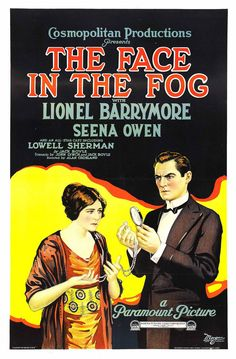 1922 The Face in the Fog <> from ART & ARTISTS: Film Posters 1913 - 1929
