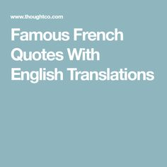 French Love Quotes With English Translation Adorable 12 Beautiful French Love Quotes With English Translation  Pinterest