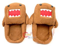 Domo Kun SLIPPERS!!!!!!!!!!!