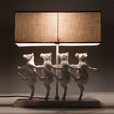 Zabawna lampa stołowa DANCING COWS 5517080