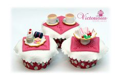 Tea For Two Cupcakes | Flickr - Photo Sharing!