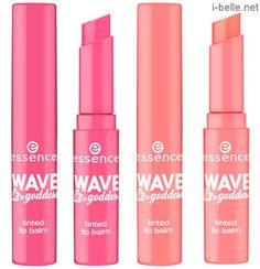 Summer 2014: Essence Wave Goddess Collection - Tinted Lip Balms