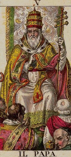 DellaRocca 1835 ('Classical Tarot') The Heirophant