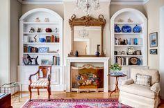 Elaborate living room on A St SE, Washington, DC