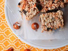 Pumpkin Spice Oreo Crispy Treats