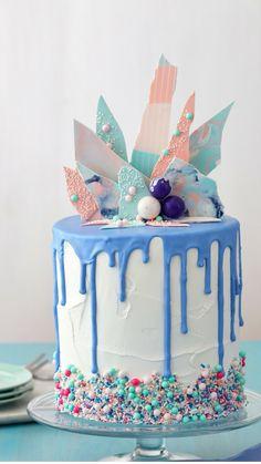 Drip Cakes, Wilton Cake Decorating, Cookie Decorating, Decorating Ideas, Cupcakes, Cupcake Cakes, Kreative Desserts, Teen Cakes, Cake Decorating Techniques