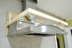 I Gotcha Covered | Young House Love...how to build a vent hood