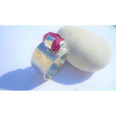 0 Ruby Gemstone, Sterling Silver Rings, Gemstones, Shoe Bag, Polyvore, Stuff To Buy, Accessories, Design, Women