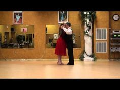 Argentine Tango Lesson 1,  Basic Pattern