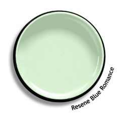 Resene Blue Romance is a young hearted minty green. View this and of other colours in Resene's online colour Swatch library Material Board, Colour Chart, Online Coloring, Color Swatches, Exterior Paint, My Room, Romance, Interior Design, Crystals