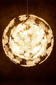Pendelleuchte in chrom, modern  - Hängeleuchten - Innenleuchten - Leuchten