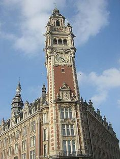 """The Oldest Clock Tower"" Lille"