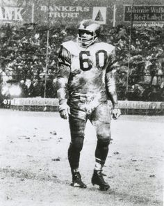 Chuck Bednarik  the last 60 minute man American Football 52b2972c0
