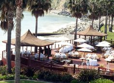 The Oceanview Room Its Large Wooden Deck Has Two Gazebos That Overlook Water