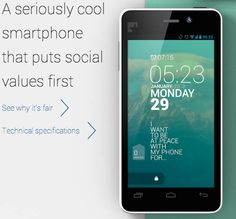 We love this responsibly built phone from Fairphone