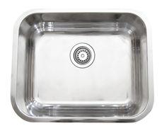 """23"""" x 17.75"""" Single Bowl Kitchen Sink"""