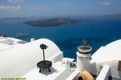 La caldeira de Santorin - Cyclades - Grece