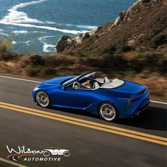 The highly anticipated production version of the new Lexus LC Convertible has arrived. Lexus Lc, New Lexus, Lexus Cars, Pebble Beach Resort, Legal Highs, Florida Weather, Uk Magazines, Art Deco Buildings, Smoky Mountain National Park