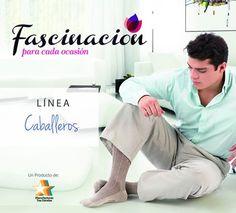 Fascinación presenta su Línea de Medias para Caballeros, complemento importante en el vestir.