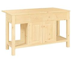 Kitchen Island 60 X 36 $499 mills stores unfinihed kitchen island, bfast bar item