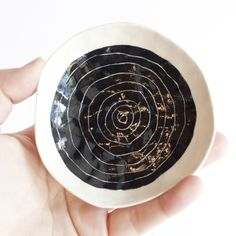 Small Etched Porcelain Dish by Suzanne Sullivan for A MANO