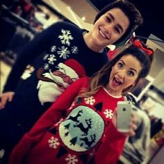 Couple christmas sweaters
