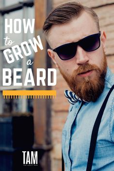 How to Grow a Beard. Growning a beard for the first time? Here's a complete in growing a beard. Includes tips on how to maintain a beard and different beard styles for men. READ MORE. Different Beard Styles, Beard Styles For Men, Hair And Beard Styles, Long Hair Styles, Beard Growing Tips, Grow A Beard, Great Beards, Long Beards, Beard Lover