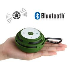 Outdoor Wireless Stereo Speakers Portable Bluetooth TF card Mini Call Speaker GREEN. Compact Music works virtually up to 30-Feet away from any Bluetooth-enabled Device like Smartphone, Tablet, MP3/MP4 players, i-Phone, iPod , iPad , Macbook & etc. Wireless sound by NFC technology ; one simple tap is all it takes to activate Bluetooth, pair the two devices, and start streaming your music. Weatherized cover in splash-proof & shock-resistant design protects against the elements. Integrity…