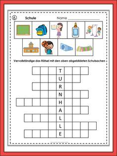 German Vocabulary Puzzles Berufe