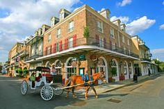 The Maison Dupuy Hotel New Orleans LA.