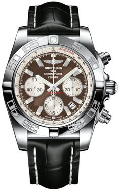 Breitling Watch Chronomat 44 Metallica Brown. Now that's a MAN'S watch