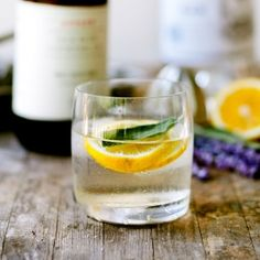 A refreshing herbal cordial to unwind on a warm summer evening.