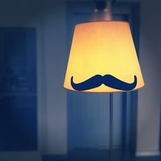 Want this mustache lamp