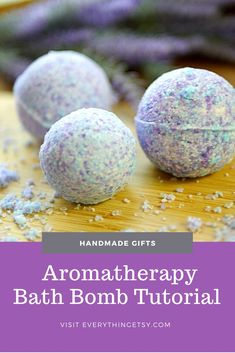 Homemade Bath Bombs are super easy to make!  There's nothing like creating your own little aromatherapy spa treatment right at home…for pennies!  When I see all the fabulous bath bombs at Lush I can't help but think of how I can make a batch of them myself.  If you are interested in the benefits of…   [read more] Handmade Gifts For Her, Gifts For Him, Diy Gifts, Homemade Bath Bombs, Etsy Business, Spa Treatments, Cool Diy Projects, Craft Tutorials, Aromatherapy