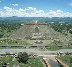 Teotihuacan's Pyramids of the Sun - great view from the top!