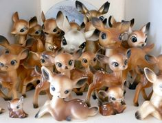 Don't need ALL of these deer, but I would love a few of them...