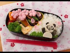 How to make a panda Hanami  bento- shows how to make those tiny shapes, with some interesting tools