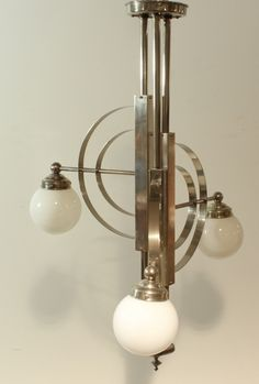 Art deco bauhaus lamp More