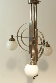Art deco bauhaus lamp                                                                                                                                                                                 More