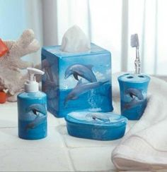Dolphin Bathroom Set 33836