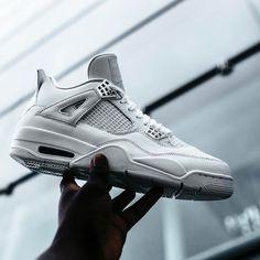 """NEW ARRIVALS: Nike Air Jordan 4 Retro """"Pure Money""""   kickbackzny.com   full family sizing available"""