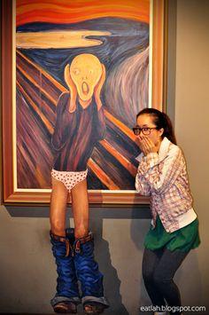 Le Cri, Hongdae, 3d Artwork, 2d Art, Seoul, Illusions, Maya, Art Pieces, Art Gallery