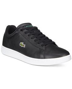 b5b4de705a33 Lacoste Men s Carnaby Evo Low-Top Sneakers Men - All Men s Shoes - Macy s