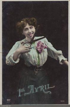 Poisson d'Avril 1908