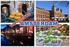 Winter in #Amsterdam #Netherlands.  A perfect time to visit the top sights and attractions without the crowds.
