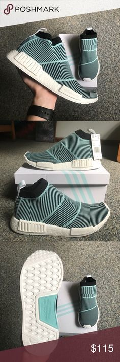 Men s Parley x Adidas NMD CS1 These shoes are 100% authentic and deadstock.  They 27fd37718ef5