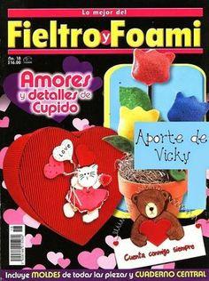 Revistas de Foamy gratis: Revista de manualidades gratis fieltro y foami
