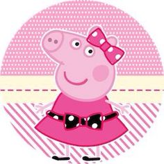 Miss Peppa Pig - Mini Kit Festa Infantil! Peppa Pig Cartoon, Peppa Pig Printables, Free Printables, Peppa Pig Familie, Familia Peppa Pig, Aniversario Peppa Pig, Cumple Peppa Pig, Beatles Party, Curious George Party